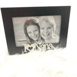 Malden I love Nana frame for a 4x6 picture